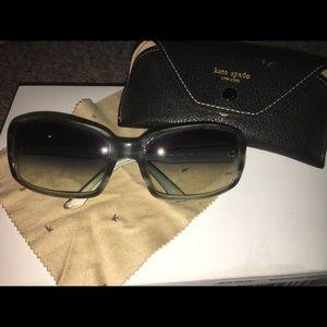 Blue Kate Spade Glasses